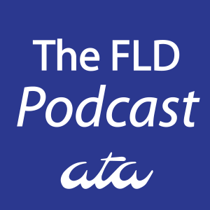 The FLD Podcast logo