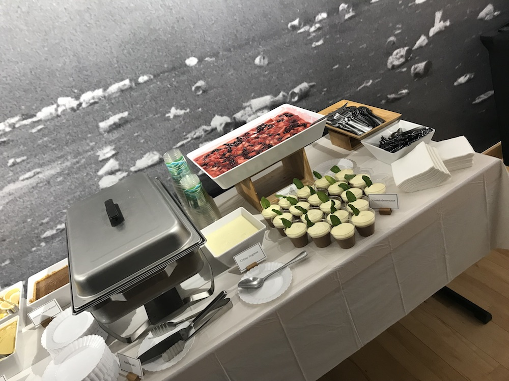 Buffet at the GLD Networking Event