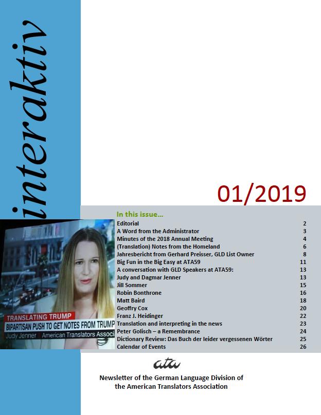 interaktiv newsletter 01 2019